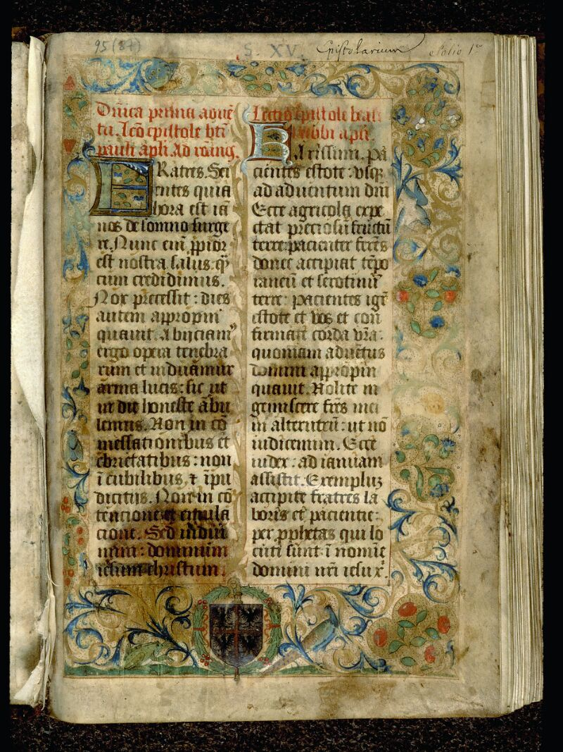 Angers, Bibl. mun., ms. 0095, f. 001 - vue 2