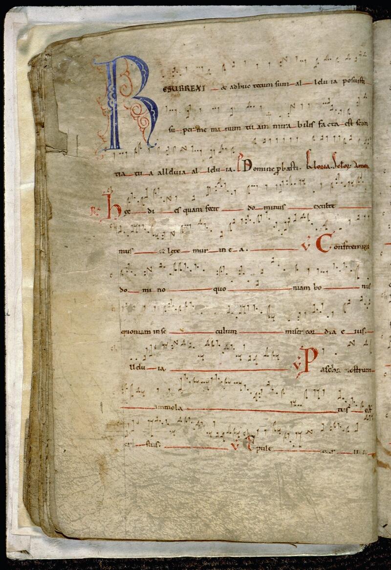 Angers, Bibl. mun., ms. 0097, f. 015v - vue 2