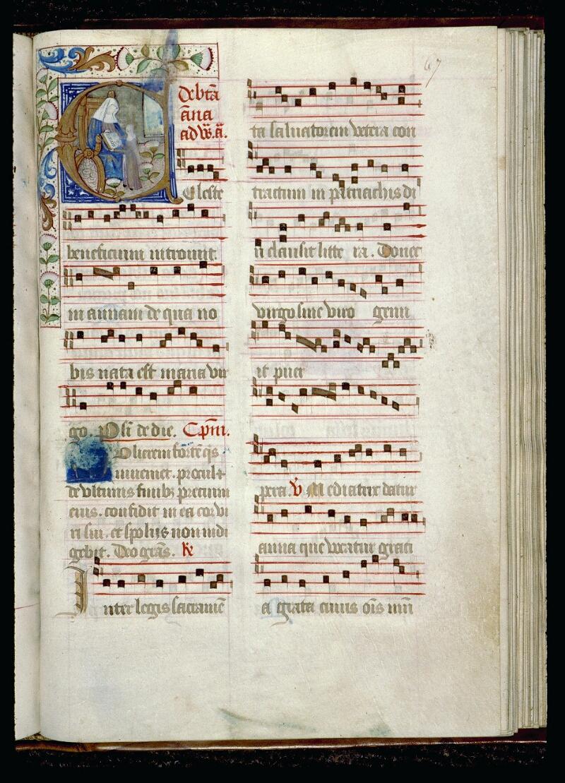 Angers, Bibl. mun., ms. 0098, f. 067 - vue 1