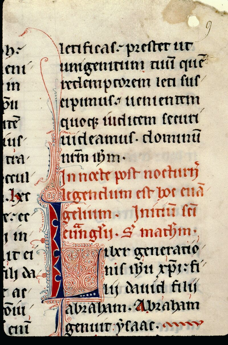 Angers, Bibl. mun., ms. 0100, f. 009