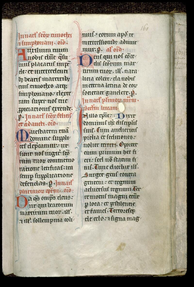 Angers, Bibl. mun., ms. 0100, f. 160