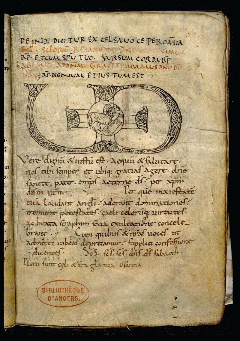 Angers, Bibl. mun., ms. 0102, f. 003 - vue 2