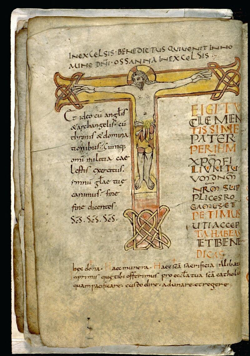 Angers, Bibl. mun., ms. 0102, f. 003v - vue 1