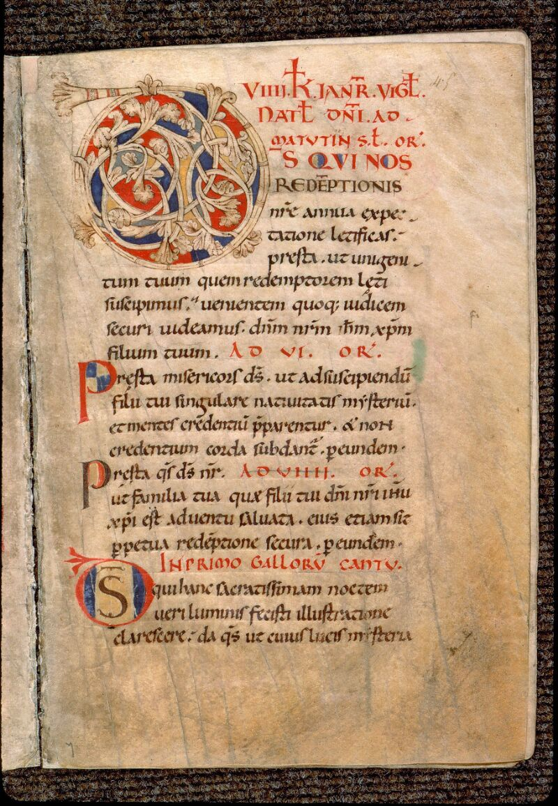 Angers, Bibl. mun., ms. 0103, f. 045 - vue 1