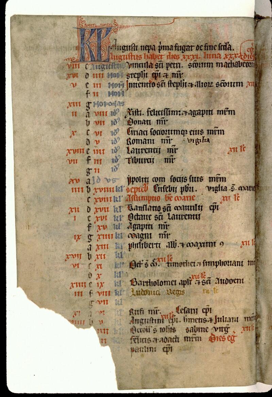 Angers, Bibl. mun., ms. 0104, f. 000IV v - vue 2