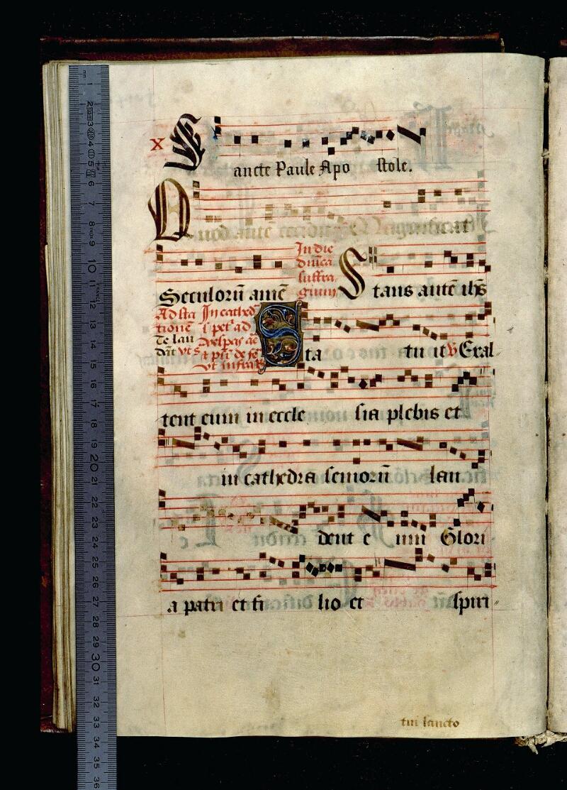 Angers, Bibl. mun., ms. 0109, f. 040v - vue 1