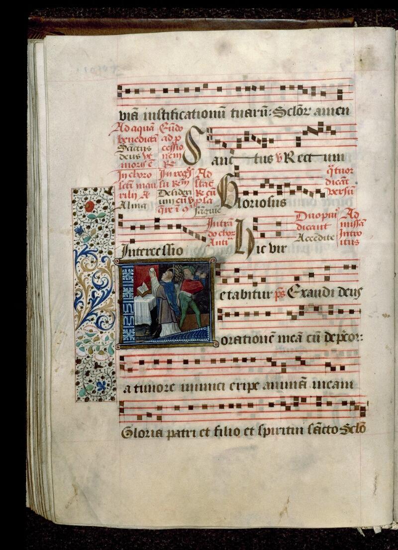 Angers, Bibl. mun., ms. 0109, f. 091v - vue 1