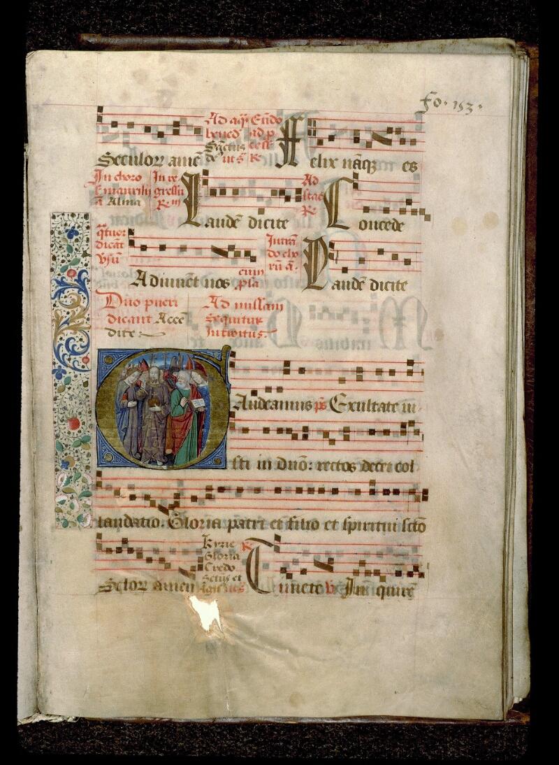 Angers, Bibl. mun., ms. 0109, f. 153 - vue 1