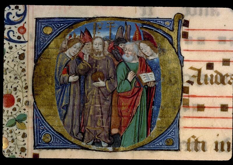 Angers, Bibl. mun., ms. 0109, f. 153 - vue 2