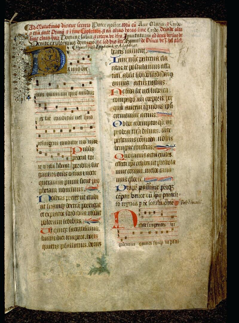 Angers, Bibl. mun., ms. 0113, f. 001 - vue 2