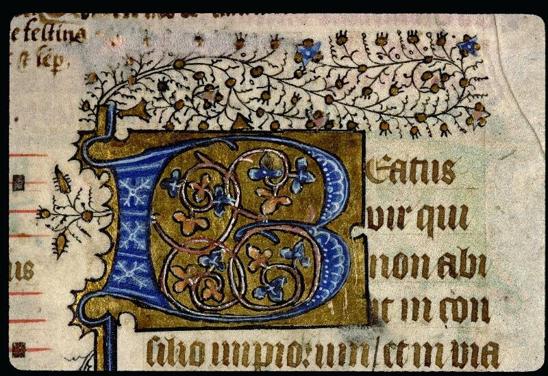 Angers, Bibl. mun., ms. 0113, f. 001v - vue 2