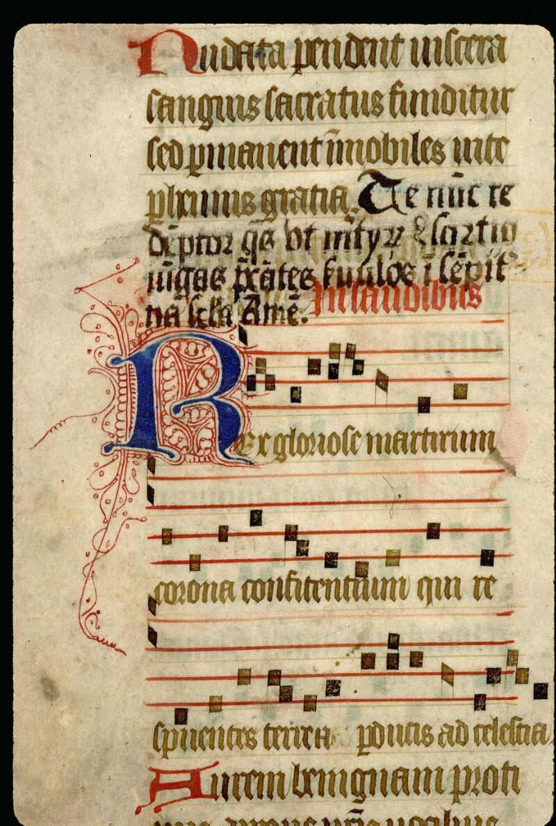 Angers, Bibl. mun., ms. 0113, f. 158v - vue 2