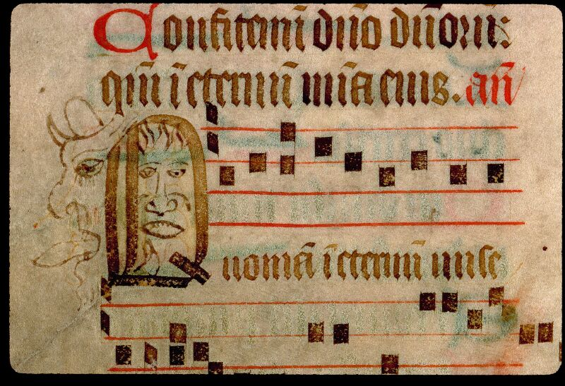 Angers, Bibl. mun., ms. 0114, f. 105v - vue 2