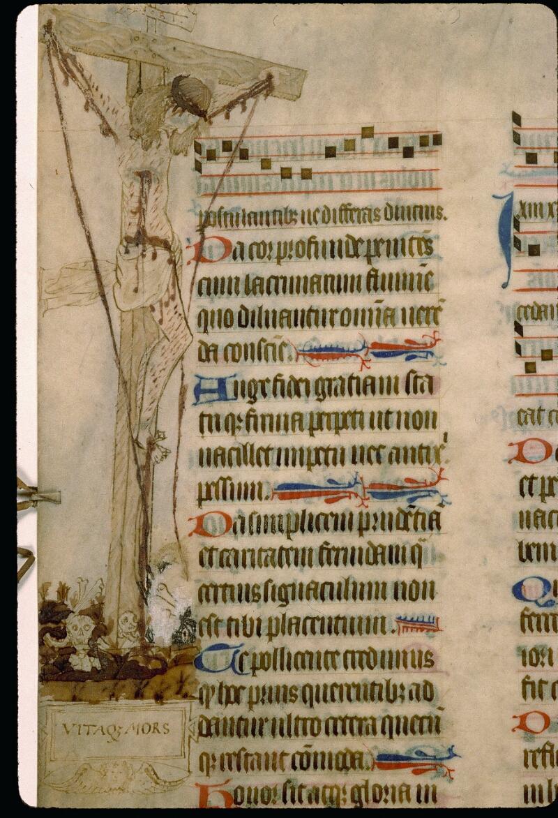Angers, Bibl. mun., ms. 0114, f. 129v - vue 2
