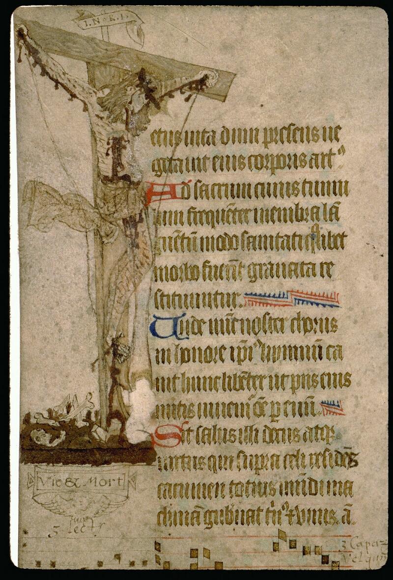 Angers, Bibl. mun., ms. 0114, f. 155v - vue 2