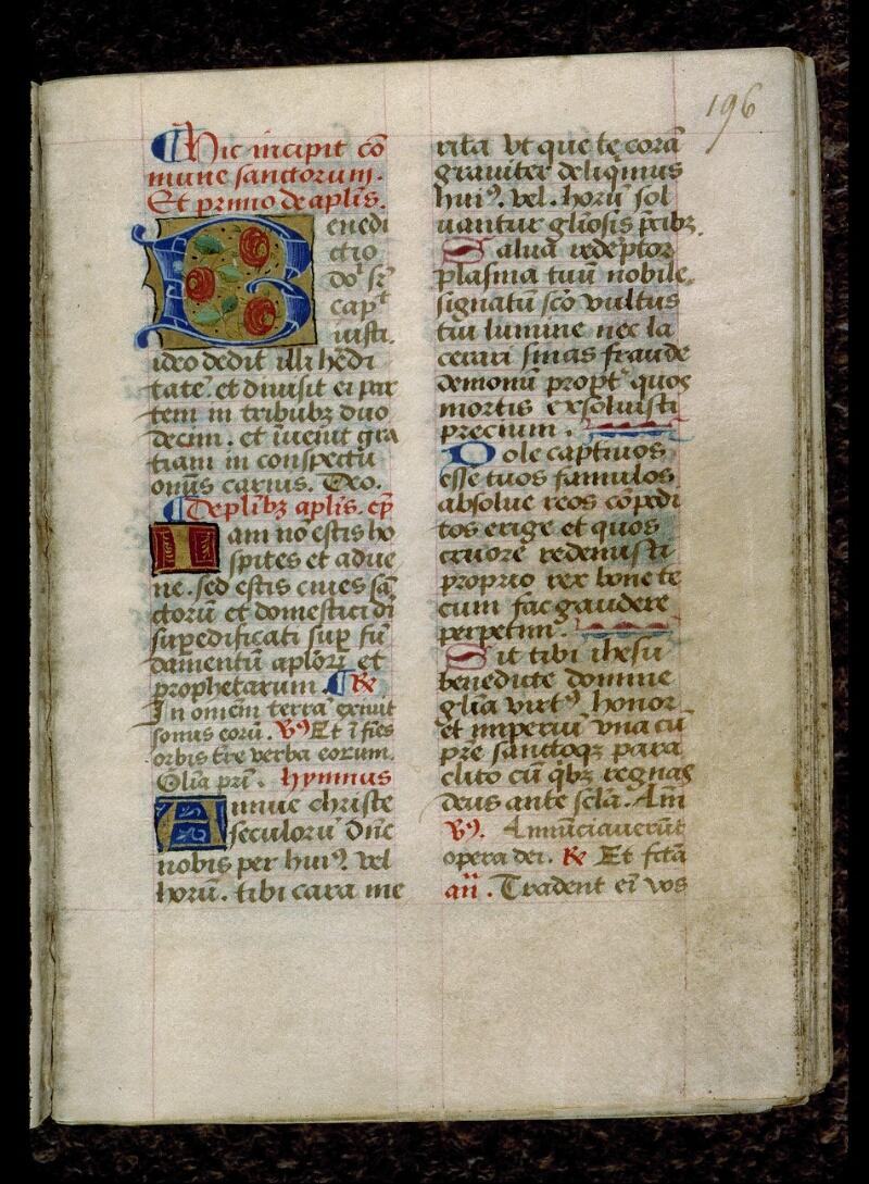 Angers, Bibl. mun., ms. 0116, f. 196