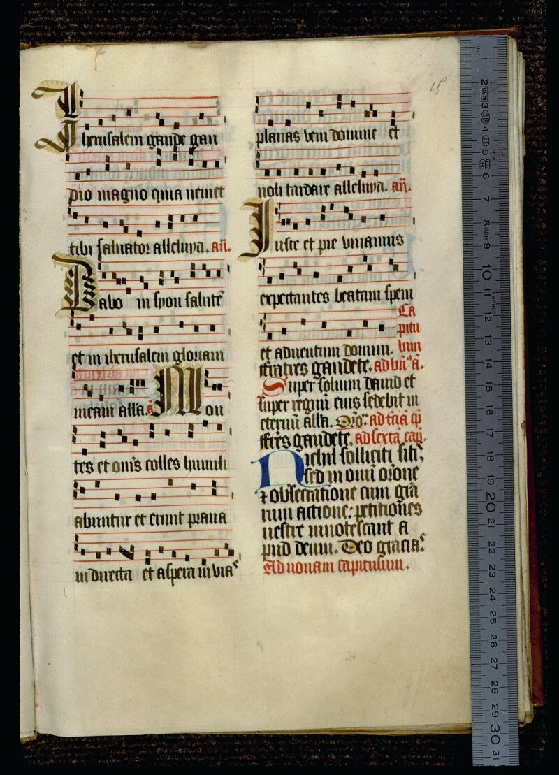 Angers, Bibl. mun., ms. 0119, f. 015 - vue 1