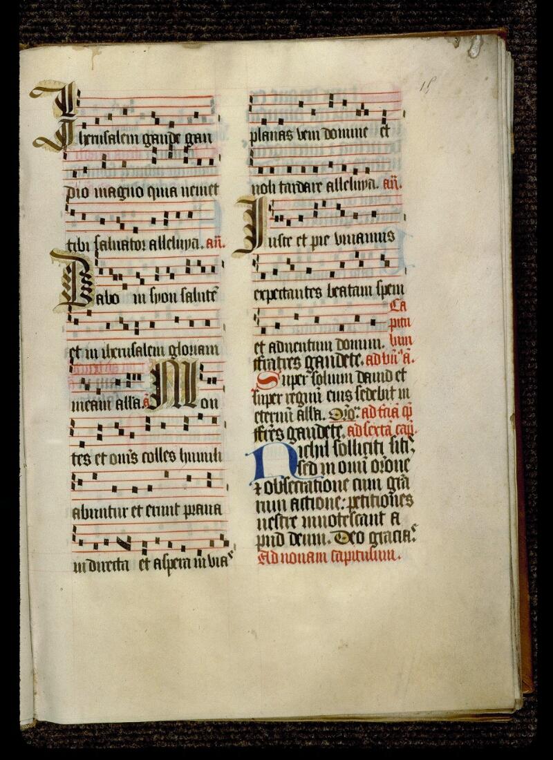 Angers, Bibl. mun., ms. 0119, f. 015 - vue 2