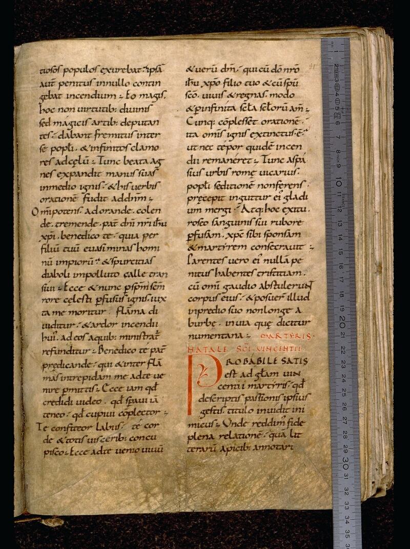 Angers, Bibl. mun., ms. 0121, f. 031 - vue 1