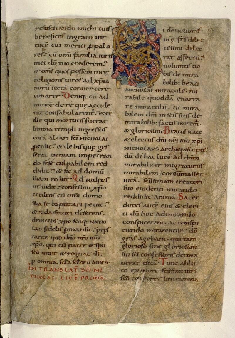Angers, Bibl. mun., ms. 0121, f. 157 - vue 1