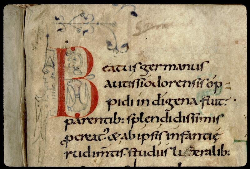 Angers, Bibl. mun., ms. 0121, f. 269 - vue 2