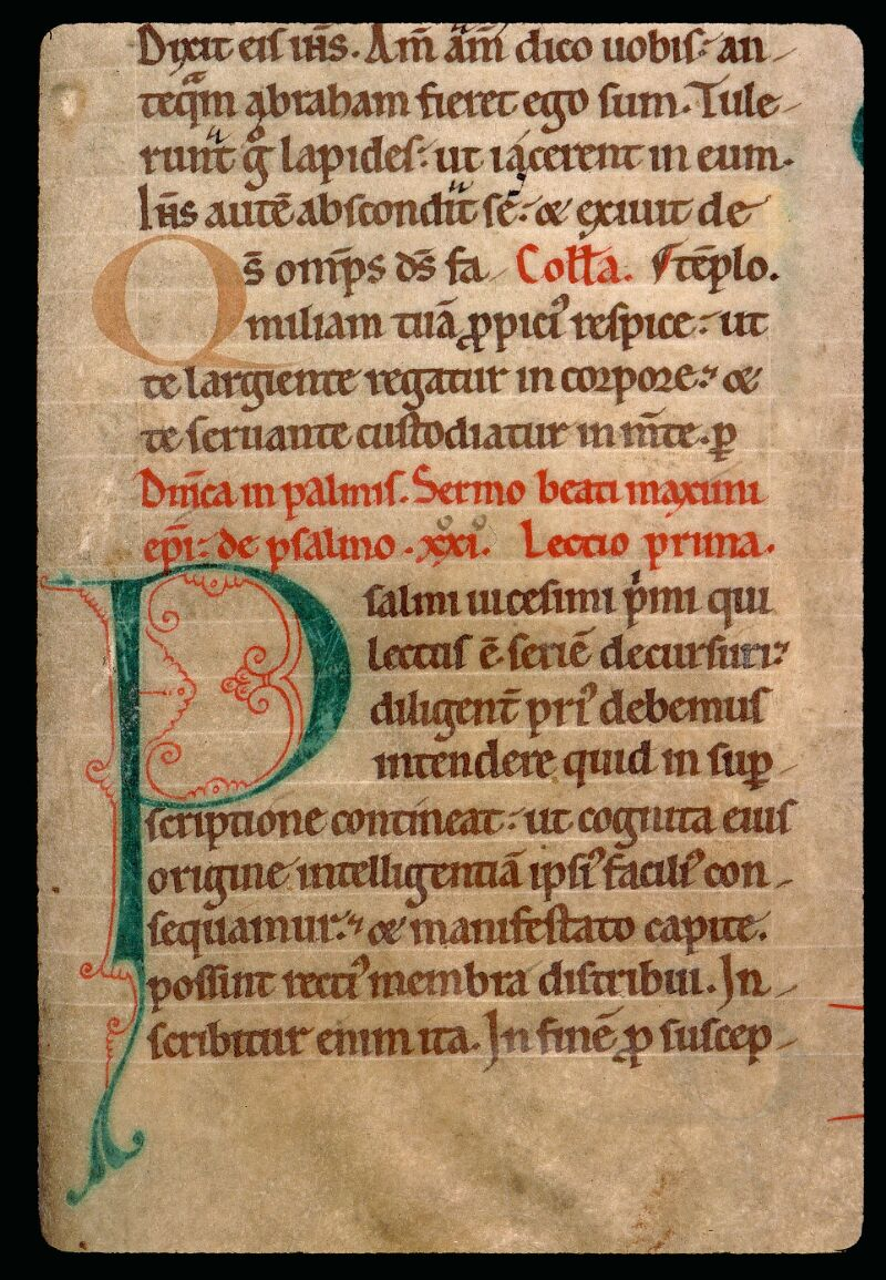 Angers, Bibl. mun., ms. 0122, f. 087 - vue 2