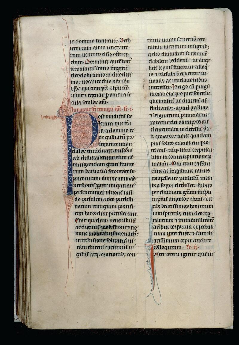 Angers, Bibl. mun., ms. 0123, f. 186v - vue 1