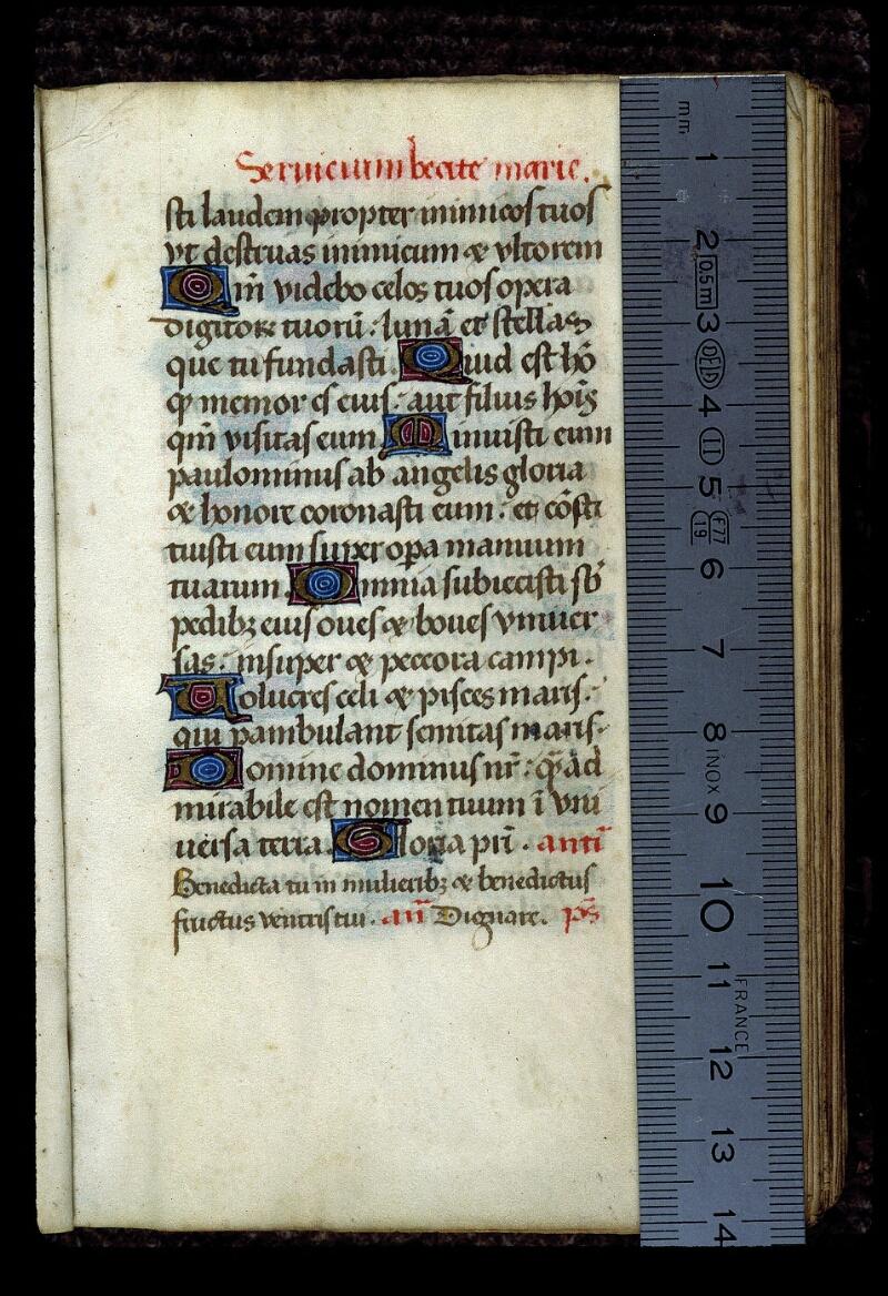 Angers, Bibl. mun., ms. 0130, f. 004 - vue 1