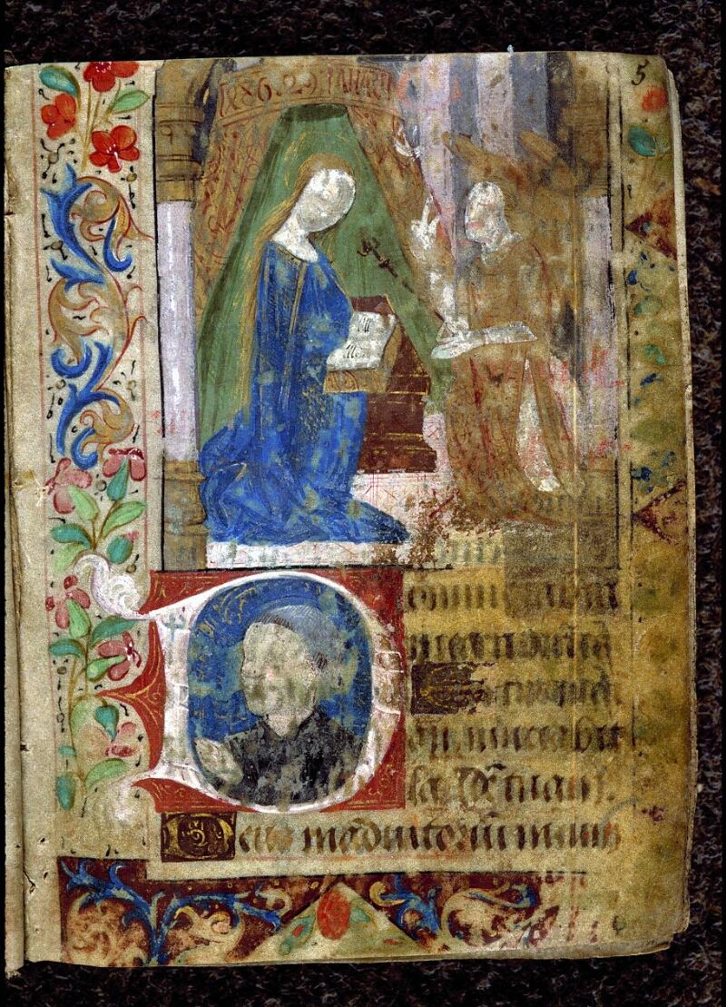Angers, Bibl. mun., ms. 0131, f. 005 - vue 2