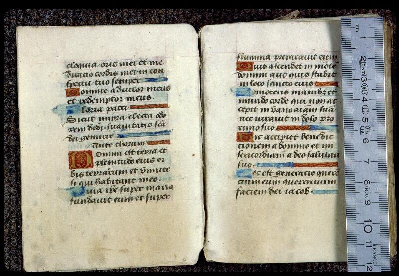 Angers, Bibl. mun., ms. 0133, f. 006v-007 - vue 1