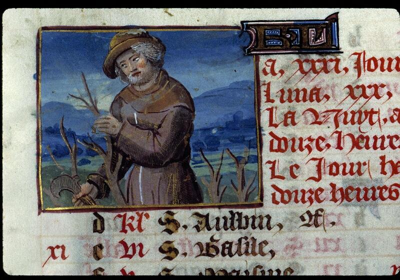 Angers, Bibl. mun., ms. 0134, f. 003 - vue 2