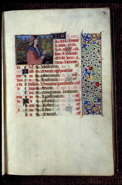 Angers, Bibl. mun., ms. 0134, f. 004 - vue 1