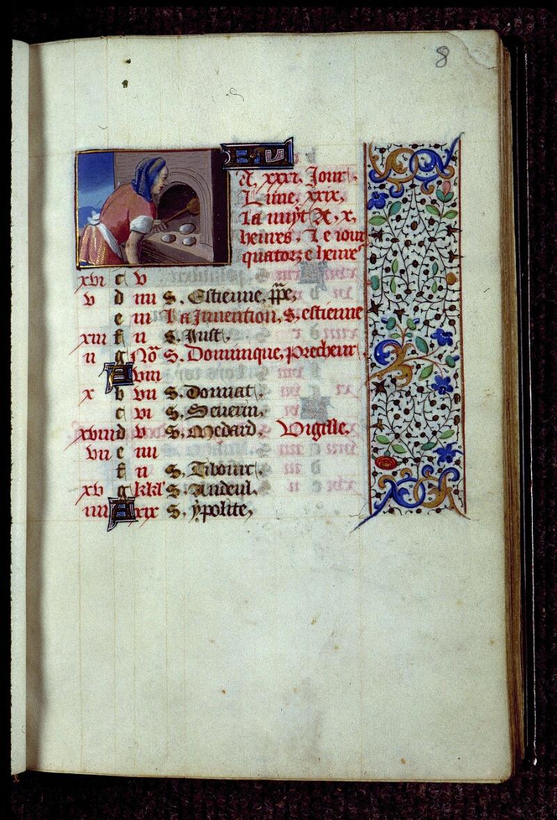 Angers, Bibl. mun., ms. 0134, f. 008 - vue 1