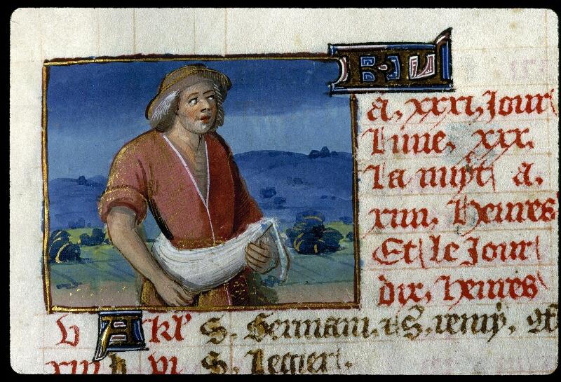 Angers, Bibl. mun., ms. 0134, f. 010 - vue 2