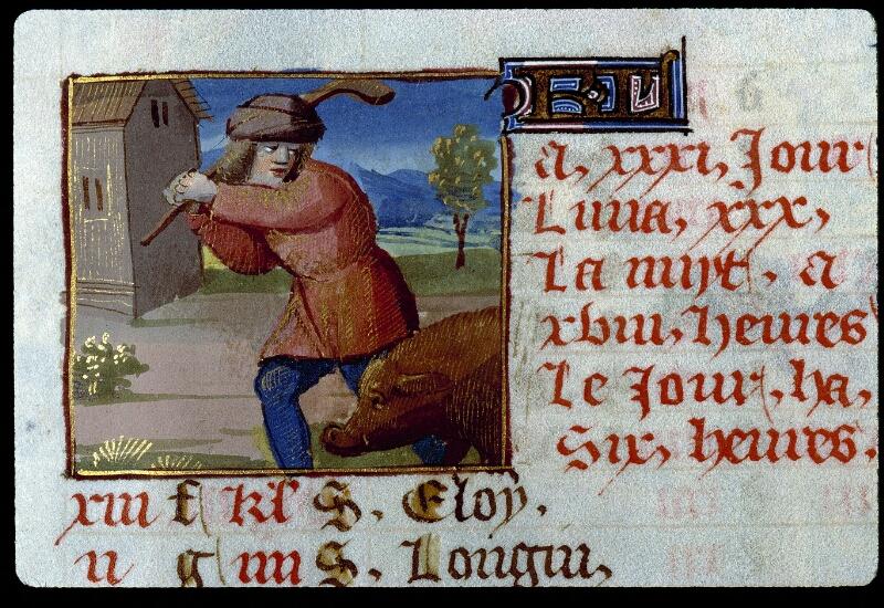 Angers, Bibl. mun., ms. 0134, f. 012 - vue 2
