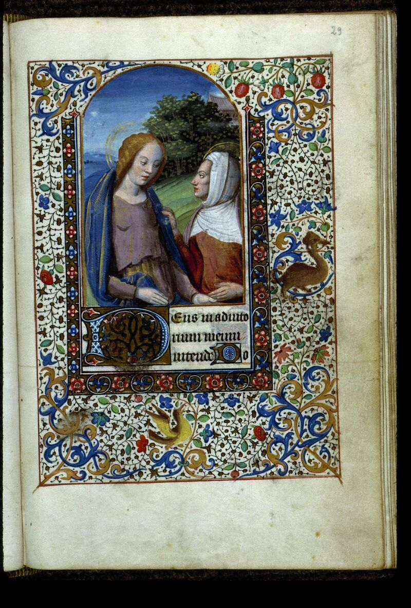Angers, Bibl. mun., ms. 0134, f. 029 - vue 1