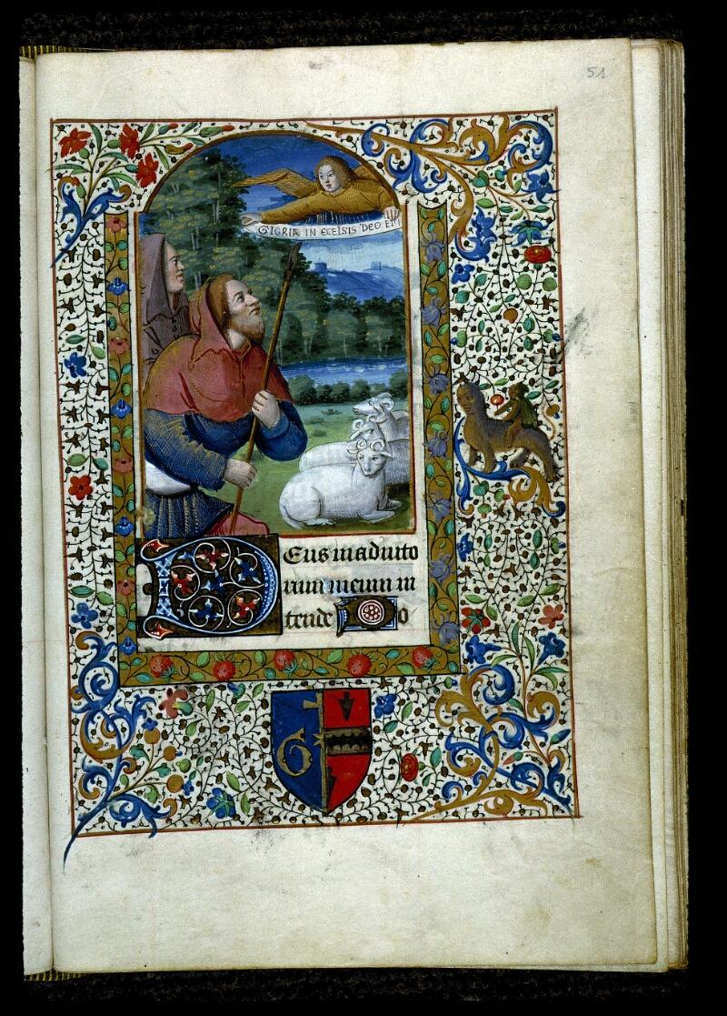 Angers, Bibl. mun., ms. 0134, f. 051 - vue 1
