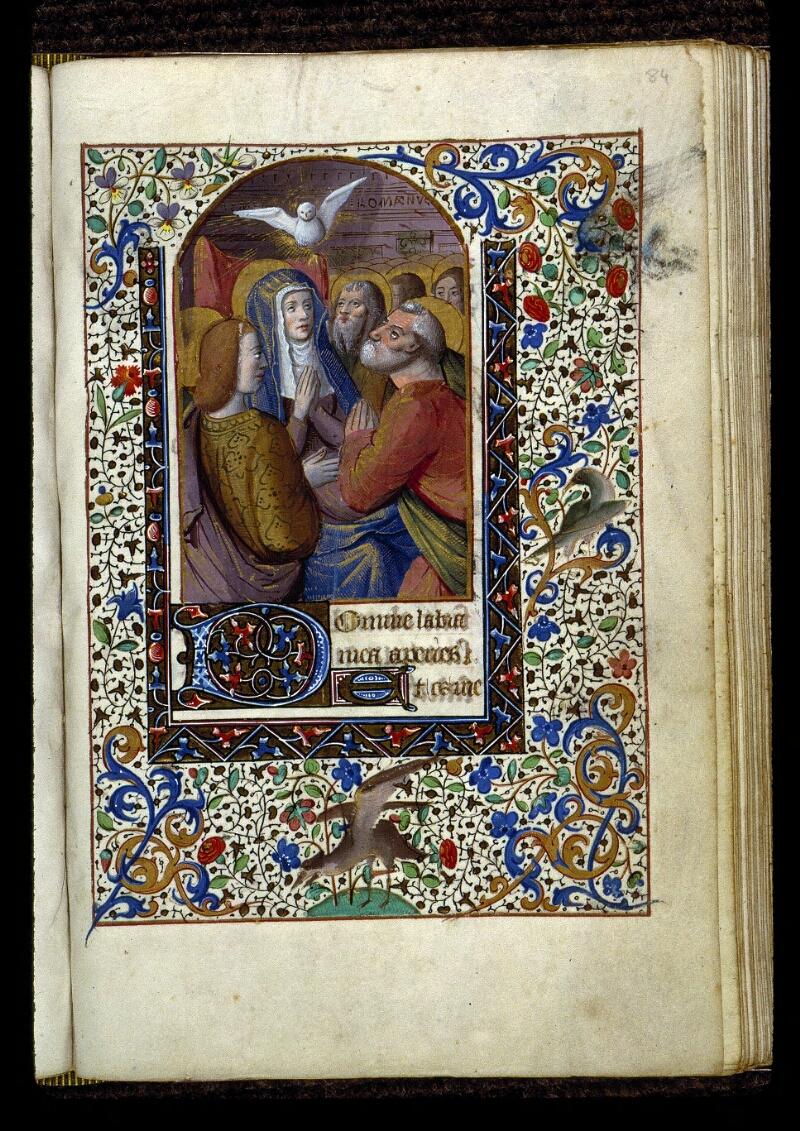 Angers, Bibl. mun., ms. 0134, f. 084 - vue 1