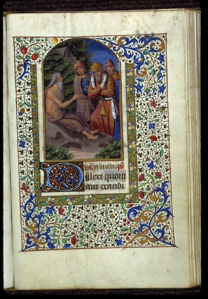 Angers, Bibl. mun., ms. 0134, f. 088 - vue 1