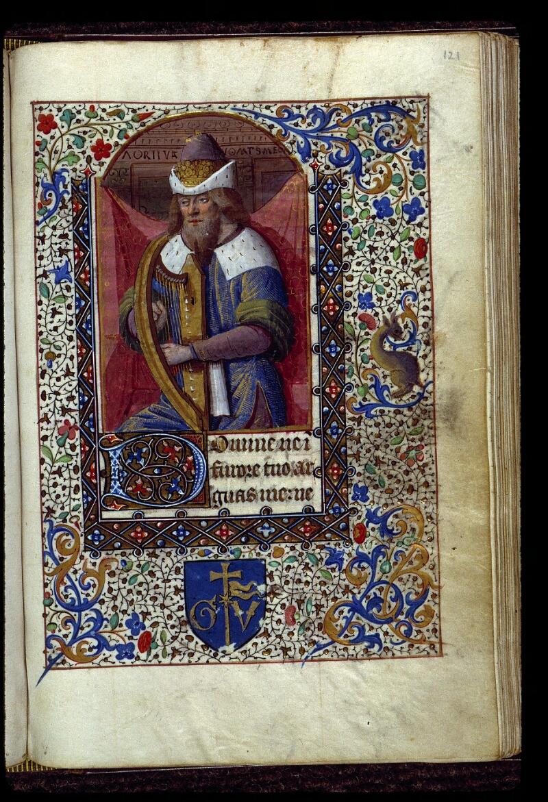 Angers, Bibl. mun., ms. 0134, f. 121 - vue 1
