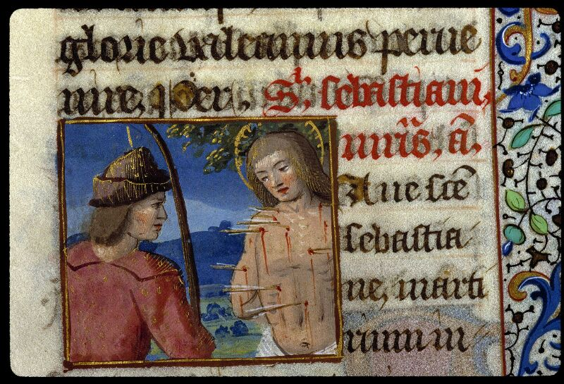 Angers, Bibl. mun., ms. 0134, f. 190 - vue 2