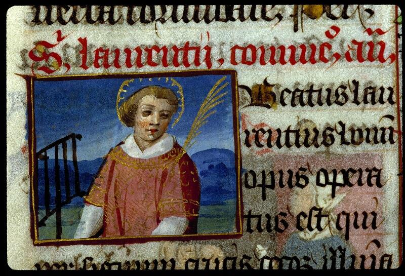 Angers, Bibl. mun., ms. 0134, f. 191 - vue 2