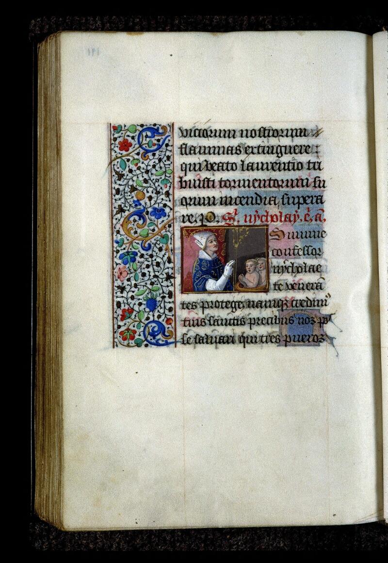 Angers, Bibl. mun., ms. 0134, f. 191v - vue 1