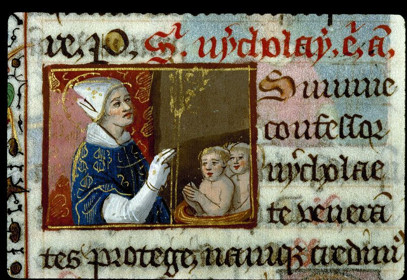 Angers, Bibl. mun., ms. 0134, f. 191v - vue 2