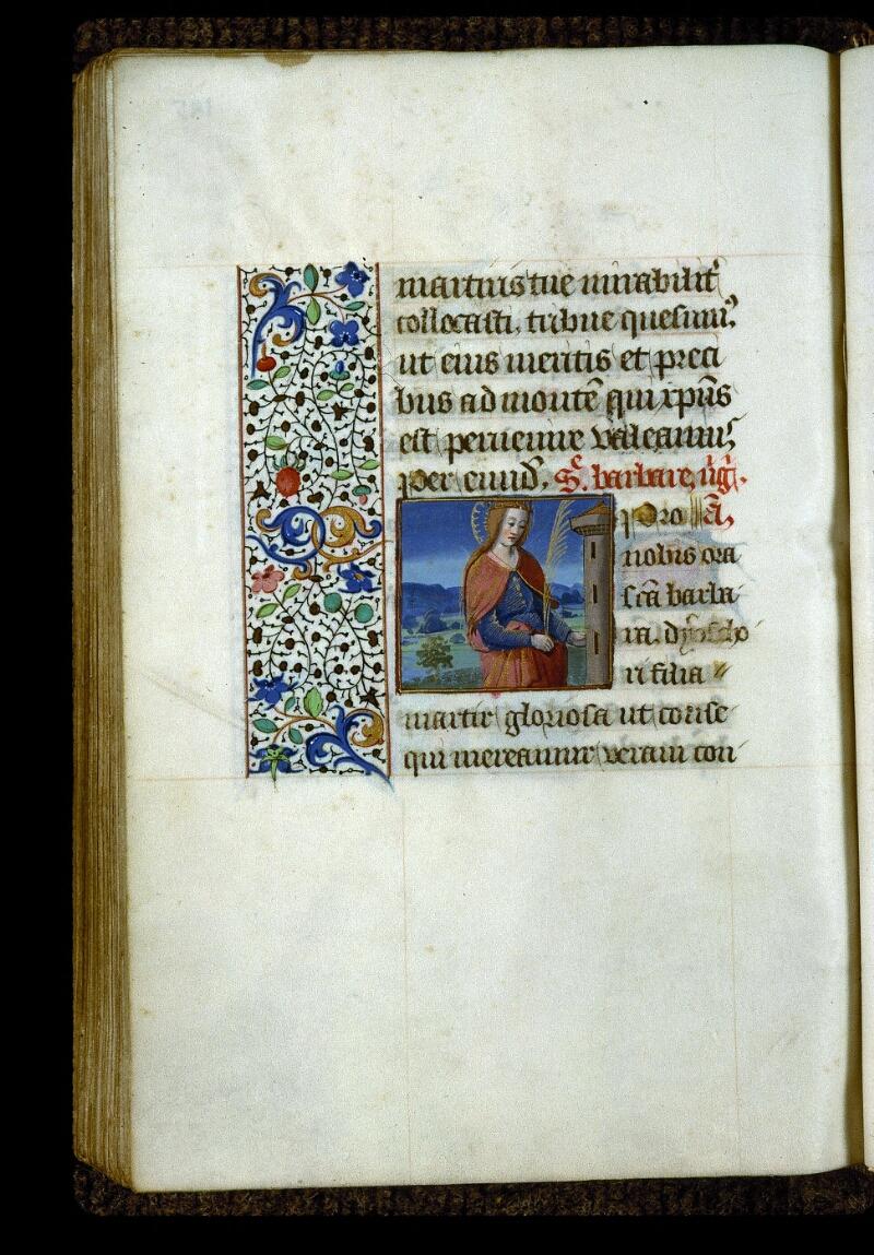 Angers, Bibl. mun., ms. 0134, f. 195v - vue 1
