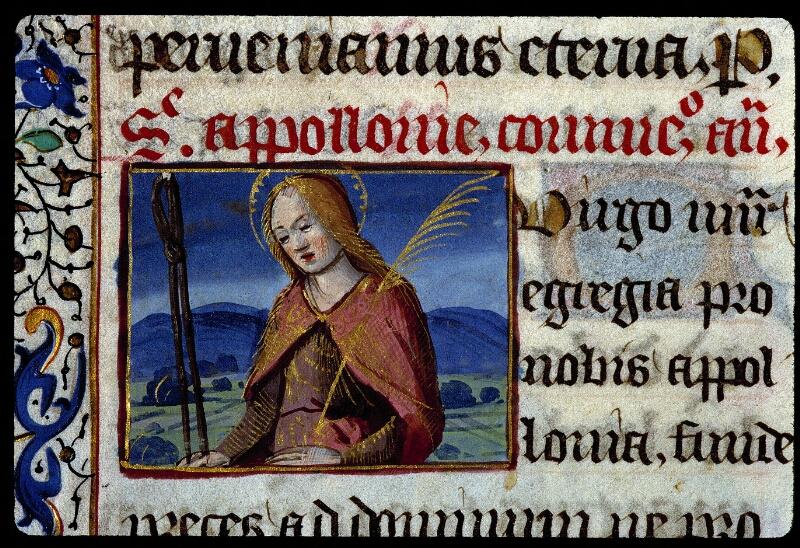Angers, Bibl. mun., ms. 0134, f. 196v - vue 2