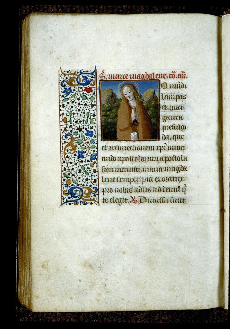 Angers, Bibl. mun., ms. 0134, f. 197v - vue 1