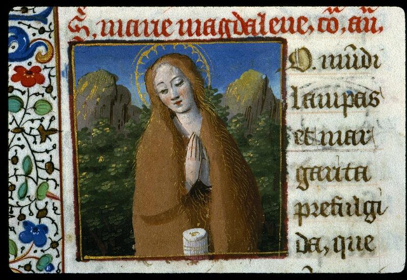 Angers, Bibl. mun., ms. 0134, f. 197v - vue 2