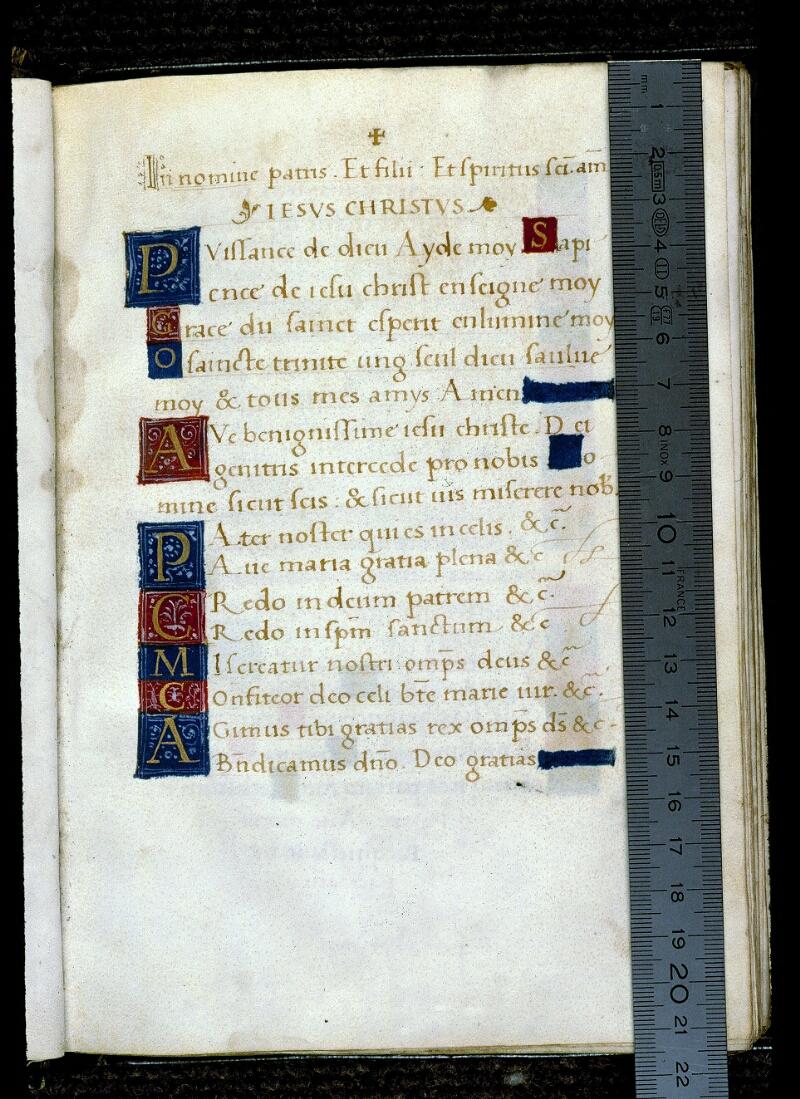 Angers, Bibl. mun., ms. 0138, f. 008 - vue 1