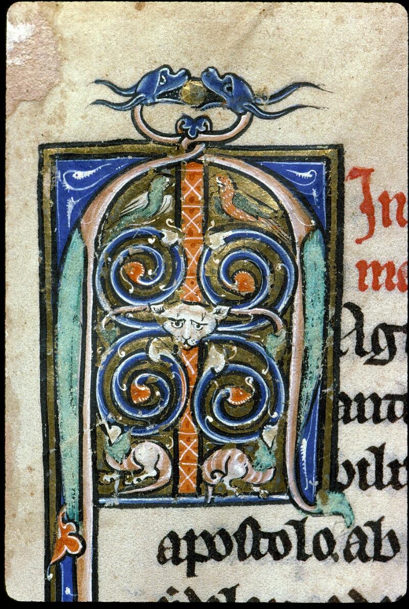 Angers, Bibl. mun., ms. 0142, f. 001 - vue 3